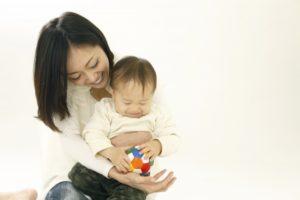 赤ちゃんのお世話の画像